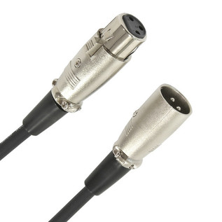 XLR (F) - XLR (M) PRO Mic Cable, 3m