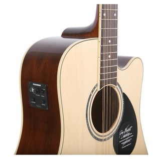 Greg Bennett GD-112SCE Electro Acoustic Guitar, Natural