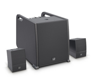 LD Systems CURV 500 AVS Portable Array System, AV Set
