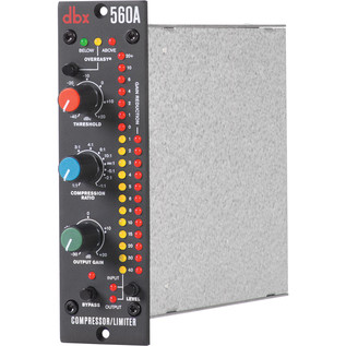 DBX 560A Compressor/Limiter - Side View