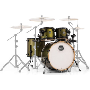 Mapex Armory 5 Piece 22'' American Fusion Shell Pack, Mantis Green