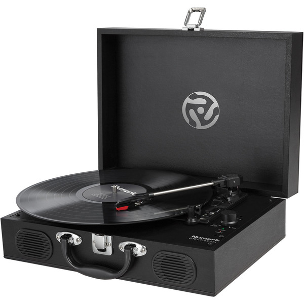 Numark PT01 Touring Portable USB Turntable