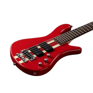 Warwick Rockbass Streamer Standard 5-String Bass, Racing Red