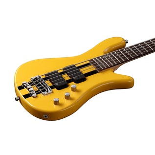 Warwick Rockbass Streamer Standard 5-String Bass, Racing Yellow