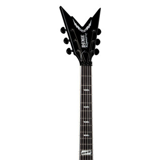 Dean Dime Razorbolt Electric Guitar, Black Silver