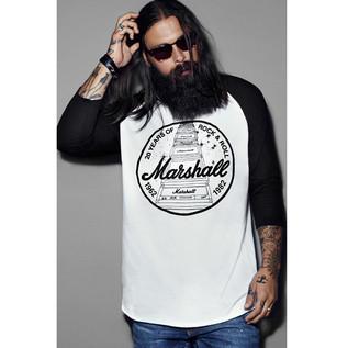 Marshall Baseball T-shirt, 20th Anniversary Graphic, Unisex XS