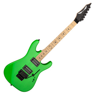 Dean Custom Zone II Floyd Electric Guitar, Nuclear Green