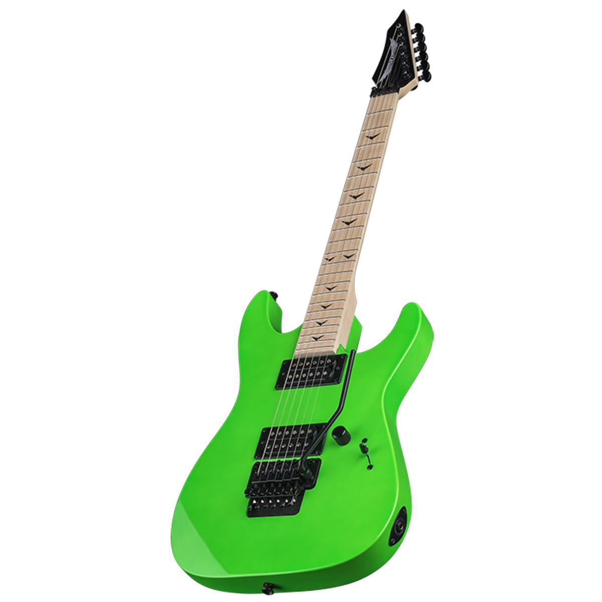 disc dean custom zone ii floyd electric guitar nuclear green at gear4music. Black Bedroom Furniture Sets. Home Design Ideas