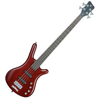 Warwick Rockbass Corvette Basic 4-String Bass Guitar, Red