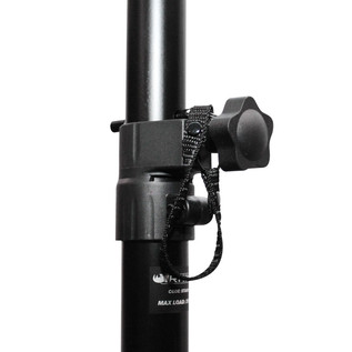Rhino Speaker Stand, Black - Locks