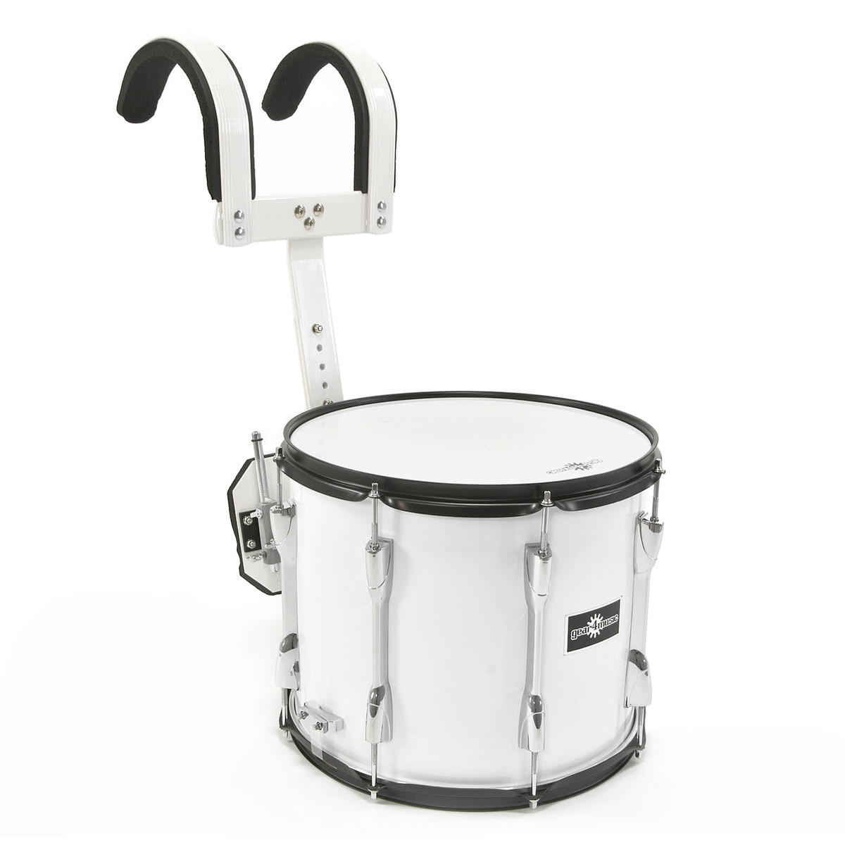 14 x 12 marching snare drum with carrier by gear4music ex demo at gear4music. Black Bedroom Furniture Sets. Home Design Ideas