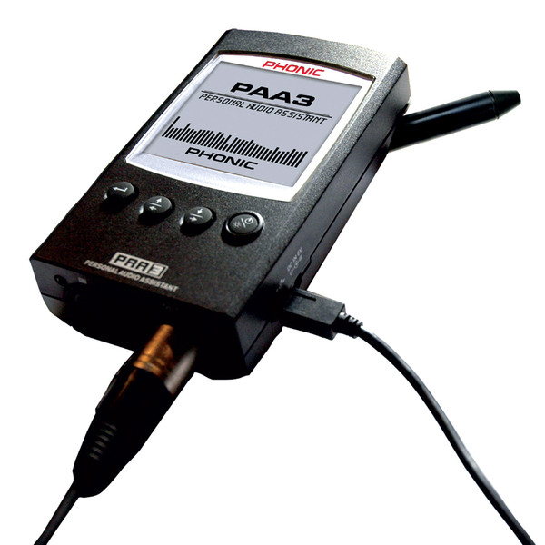 Phonic PAA3 Audio Analyzer - Side View