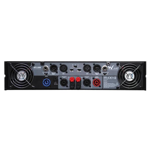 W Audio EPX 1200 Amplifier - Rear View