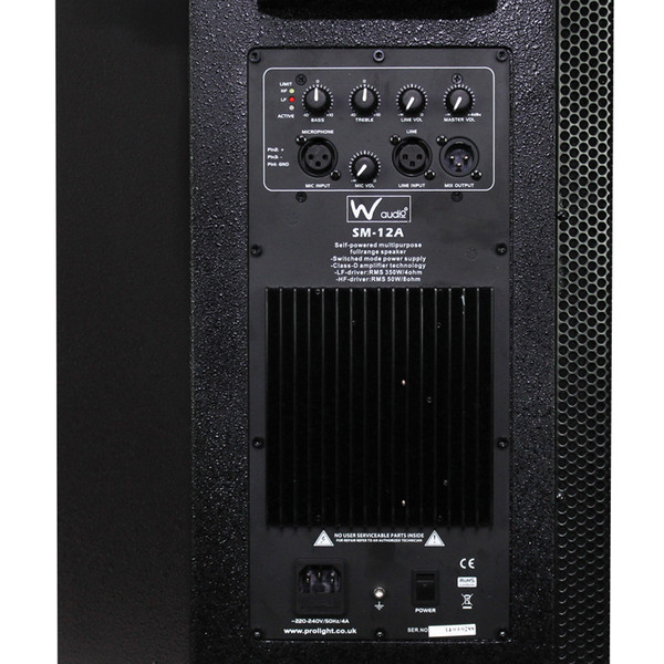 W Audio SM 12A Stage Monitor - 5