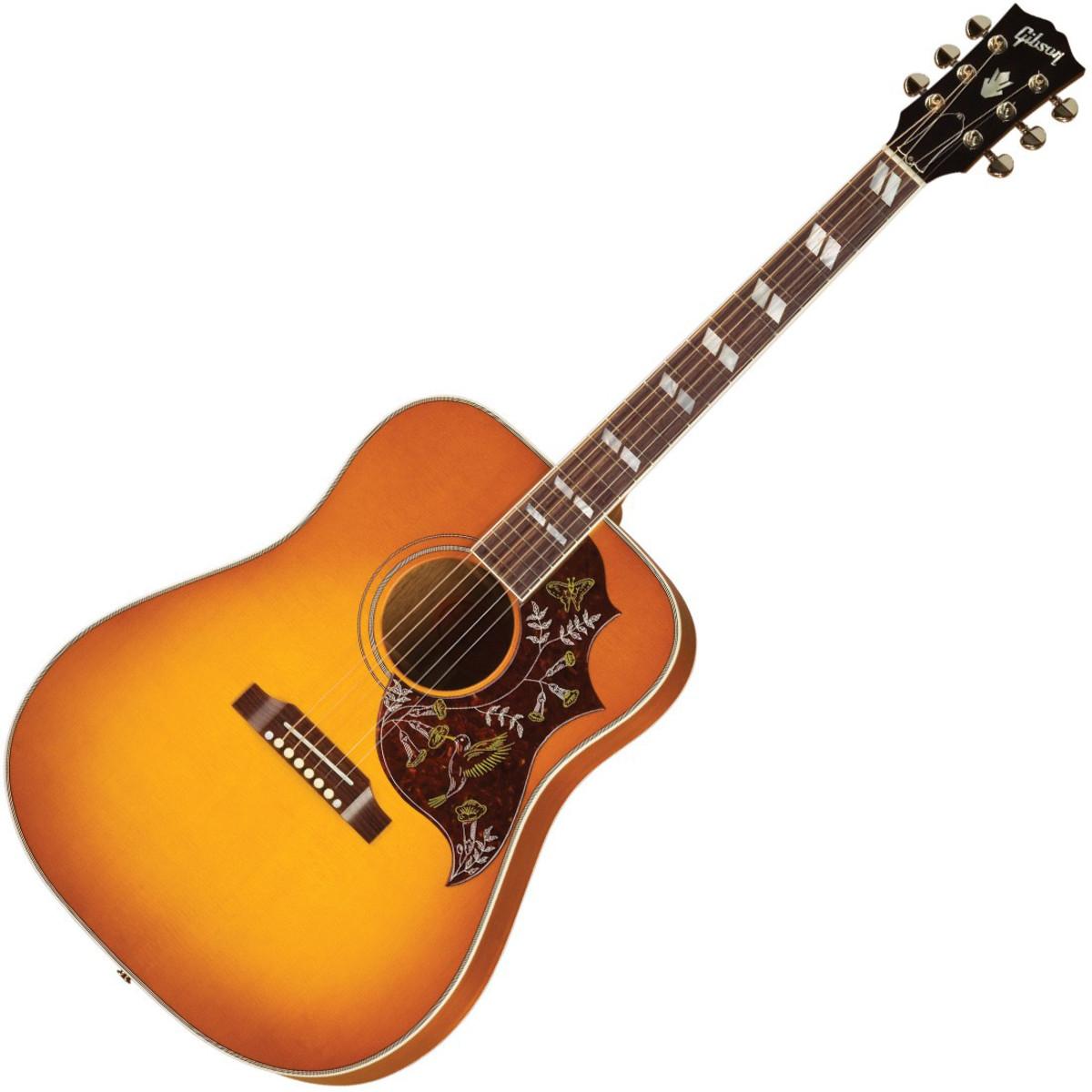 gibson hummingbird electro acoustic guitar heritage cherry sunburst at. Black Bedroom Furniture Sets. Home Design Ideas