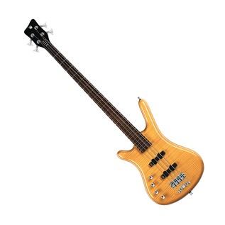 Warwick Rockbass Corvette Premium Left Handed 4-String Bass, Natural