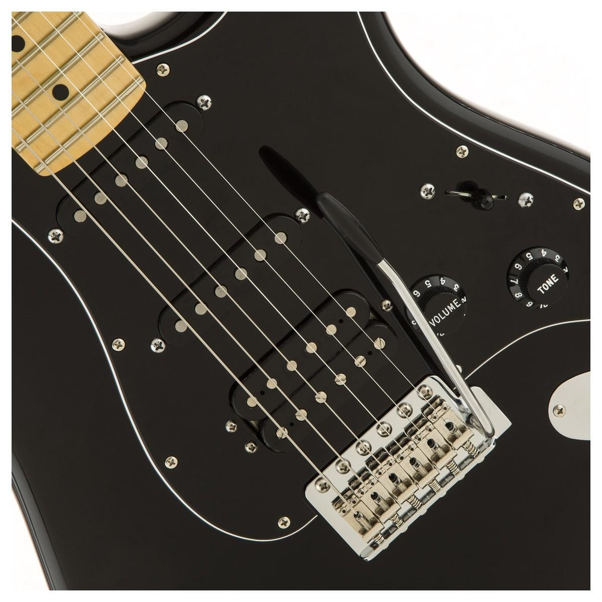 Fender American Special Stratocaster HSS MN, schwarz bei Gear4music