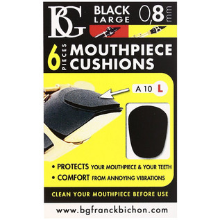 BG Mouthpiece Cushion Sax And Clarinet - Large - 0.8MM (Pack Of 6)