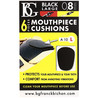 BG Mouthpiece Cushion Sax and Clarinet, Large 0.8MM (Pack Of 6)