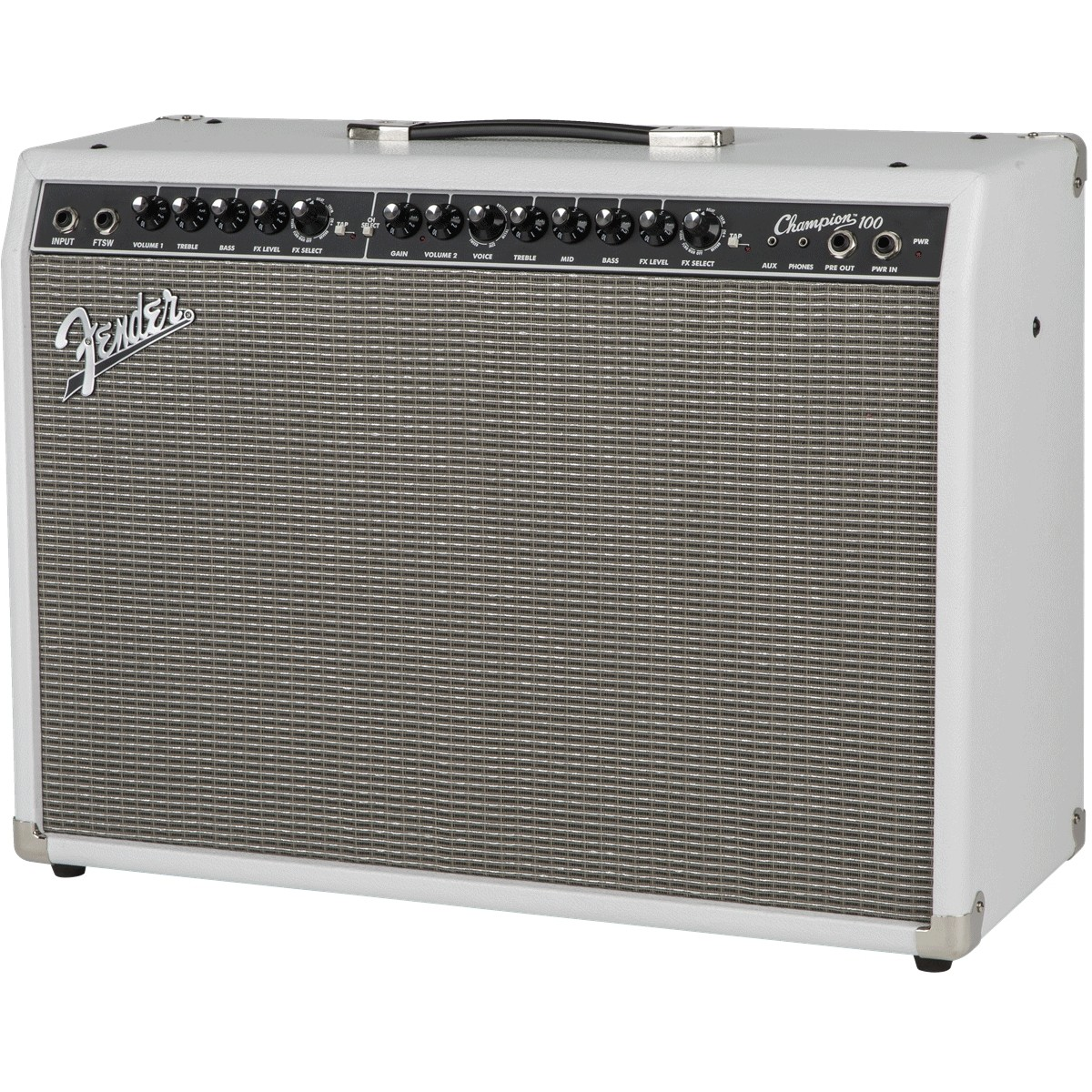 disc fender champion 100 limited edition guitar combo amp snow white at gear4music. Black Bedroom Furniture Sets. Home Design Ideas