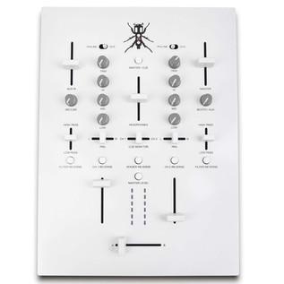 DJ Tech TRX Thud Rumble DJ Scratch Mixer, White