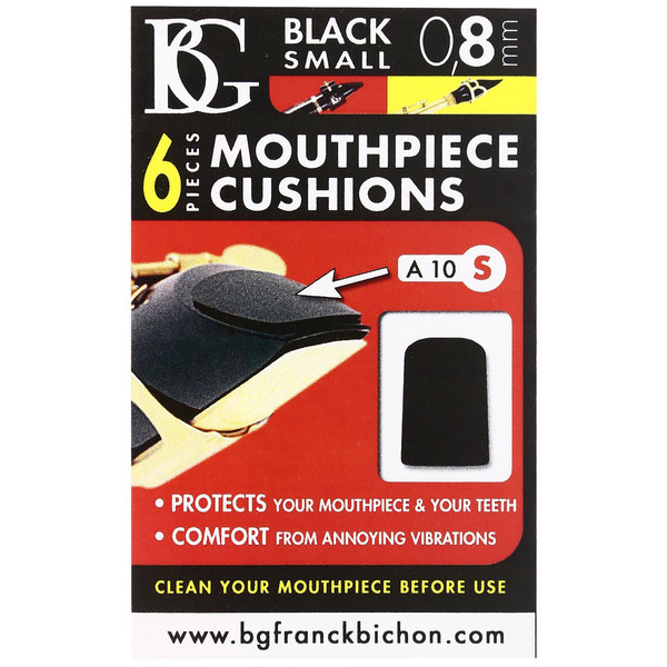BG Mouthpiece Cushion Sax And Clarinet - Small - 0.8MM (Pack Of 6)