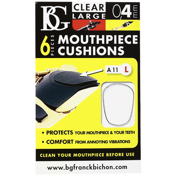 BG Mouthpiece Cushion Sax And Clarinet - Large - 0.4MM (Pack Of 6)