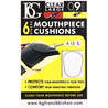 BG Mouthpiece Cushion Sax and Clarinet, Large 0.9mm (Pack Of 6)