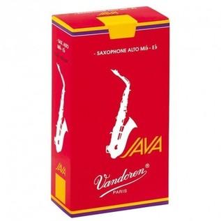 Vandoren Java Red-Cut Alto Saxophone Reeds Strength 1.5 (10 Pack)