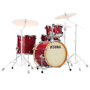 Tama Silverstar Vintage 22'' 4 Piece Shell Pack, Satin Dark Cherry