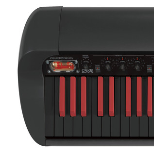 Korg SV-1 73 Stage Piano, Limited Edition Reverse Black and Red Keys