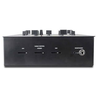 DJ Tech TRX Thud Rumble DJ Scratch Mixer, Black - Front View