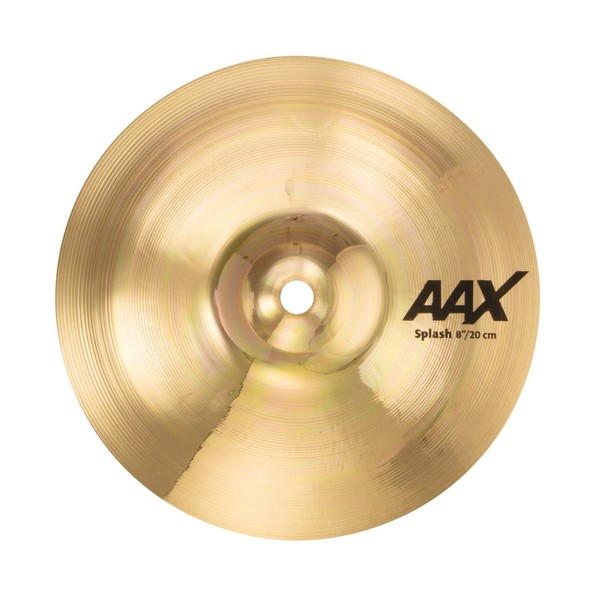 "Sabian AAX Series Splash 8"" Cymbal, Brilliant"