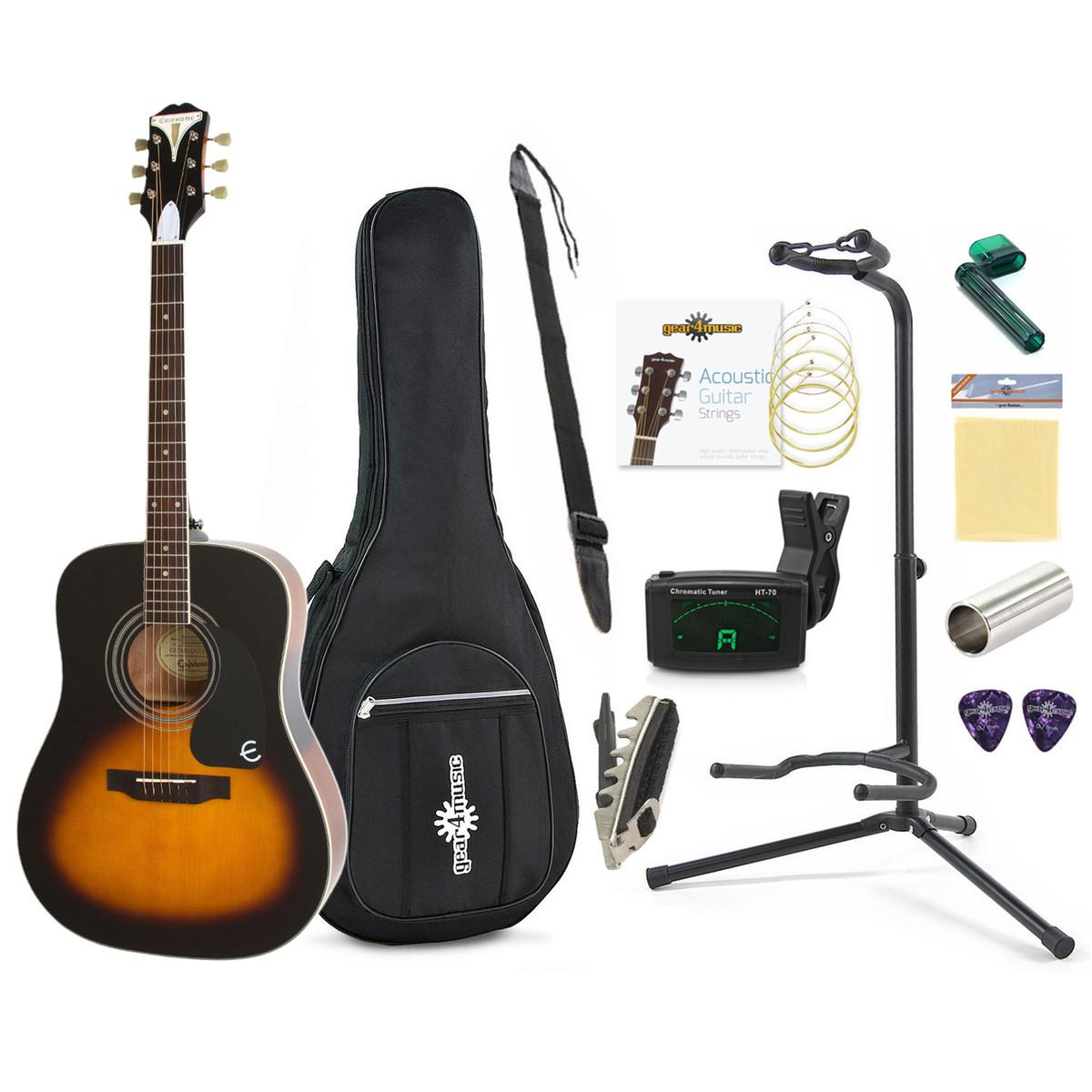 Disc Epiphone Pro 1 Beginners Guitar Pack Vintage