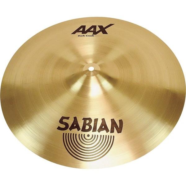 Sabian AAX 16'' Dark Crash Cymbal, Brilliant Finish