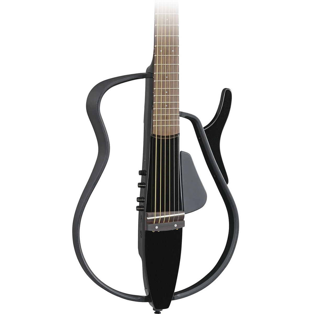 disc yamaha slg110s silent guitar black metallic at gear4music. Black Bedroom Furniture Sets. Home Design Ideas