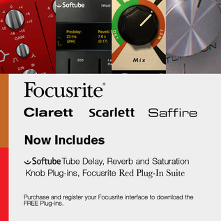 Focusrite Clarett 2 Pre Thunderbolt Audio Interface