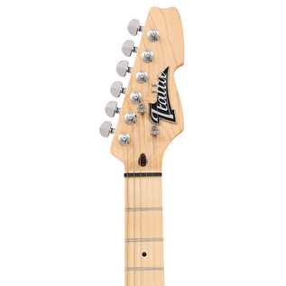 Italia Modulo Standard Electric Guitar, Sunburst with Gig Bag