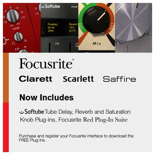 Focusrite Scarlett 6i6 USB 2.0 Audio Interface