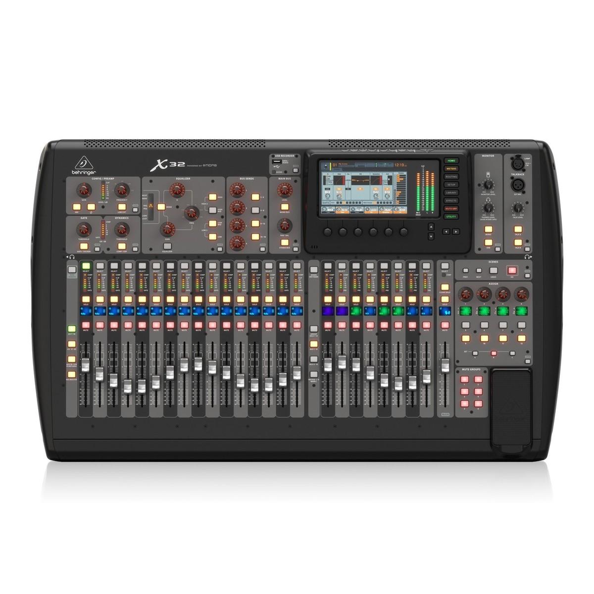 behringer x32 32 channel digital mixer at gear4music. Black Bedroom Furniture Sets. Home Design Ideas