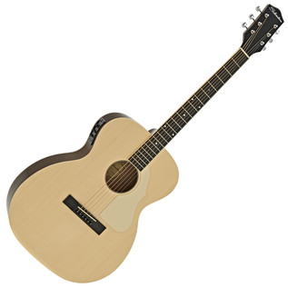 Silvertone 600E Electro Acoustic Guitar, Natural