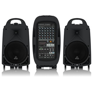 Behringer Europort PPA2000BT 8 Channel Portable PA System