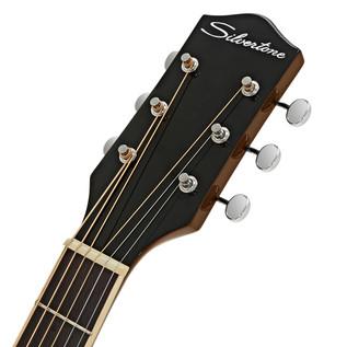 Silvertone 600E Electro Acoustic Guitar, Natural