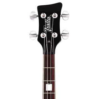 Italia Rimini 4 Bass Guitar, Black with Gig Bag
