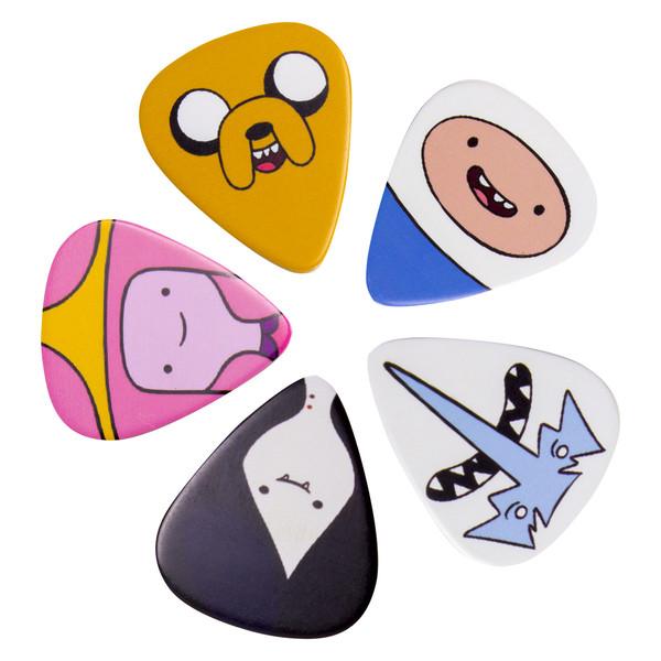 Adventure Time Guitar Plectrum Set