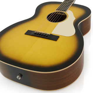 Silvertone 600E Electro Acoustic Guitar, American Vintage Sunburst