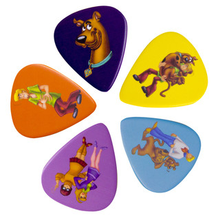 Scooby-Doo Guitar Plectrum Set