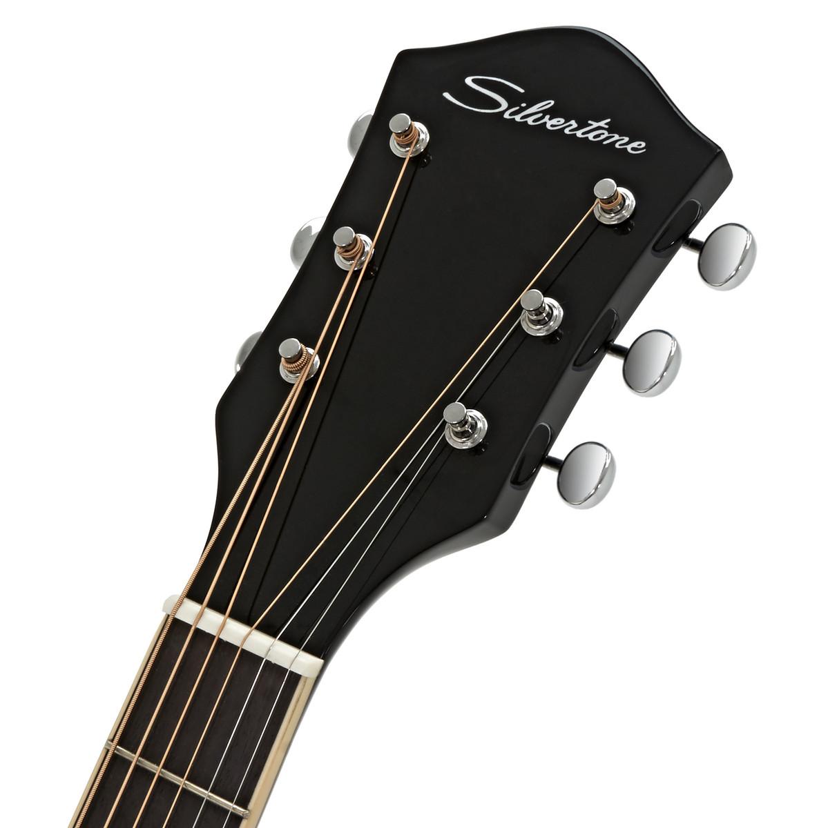 silvertone acoustic guitar vintage