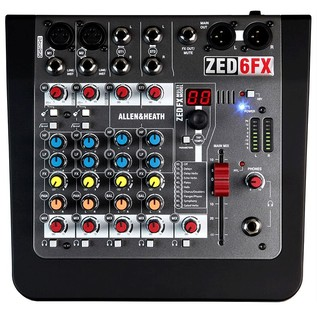 Allen and Heath Zed6fx Compact Mixer
