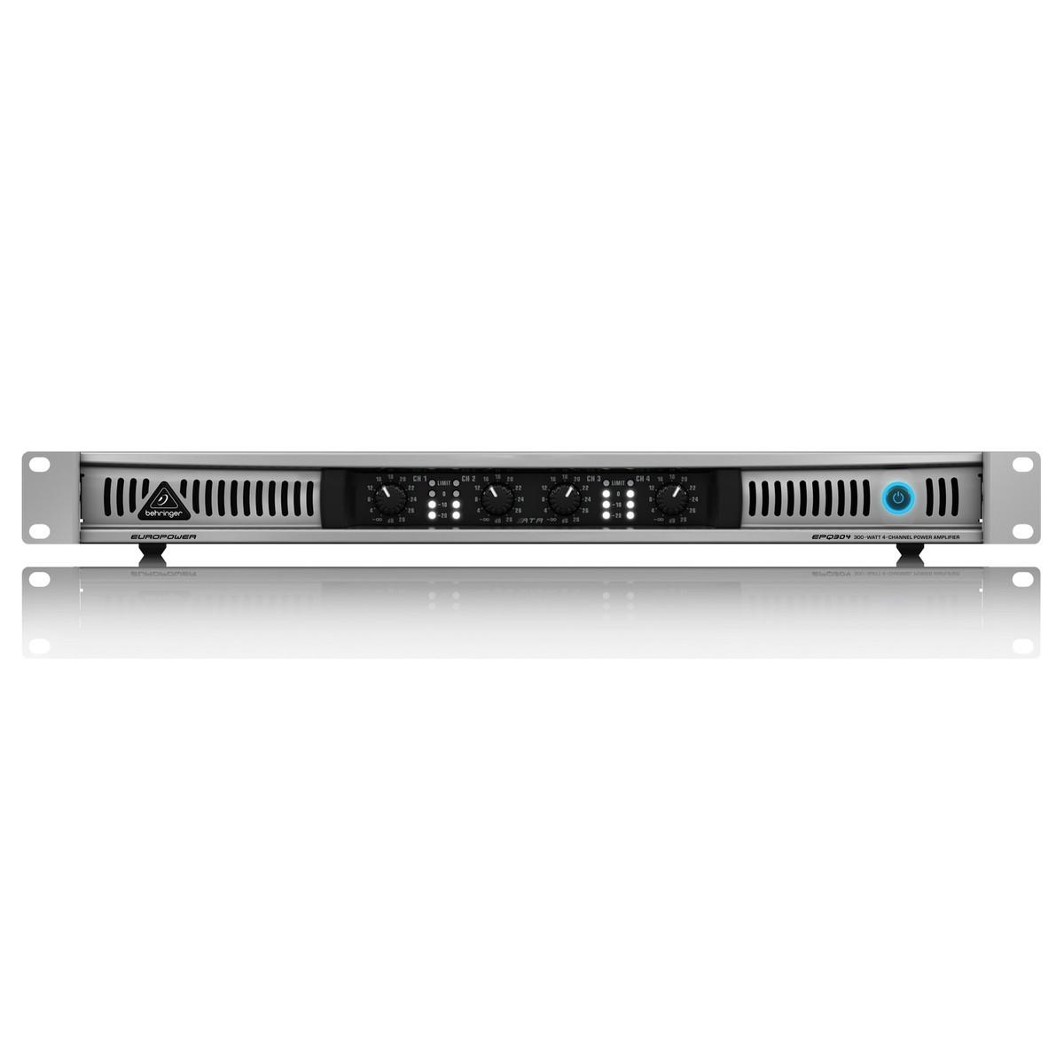 Behringer Epq304 4 Channel Power Amp Front View Loading Zoom Behringer Epq304 Power Amp